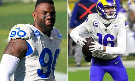 Rams-Lions trade is awkward after Michael Brockers' Jared Goff dig