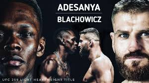 UFC 259 live stream (3/6/21): How to watch Blachowicz vs. Adesanya, time, channel, full card